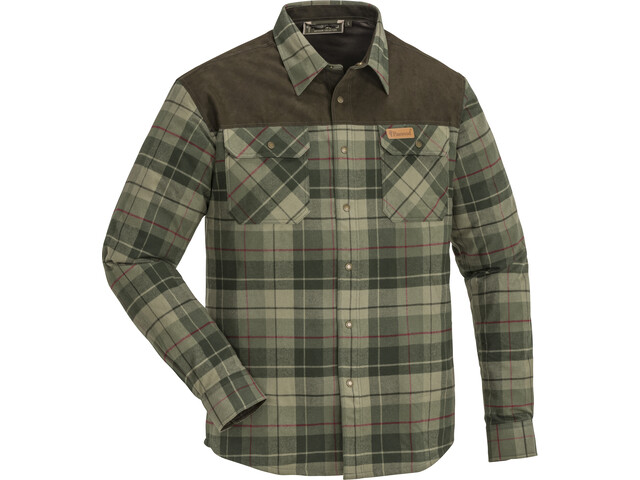 Pinewood Douglas Shirt Men green/darkgreen